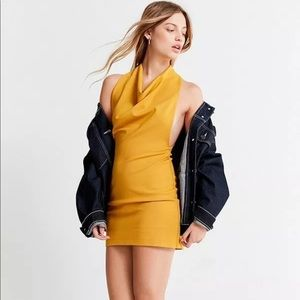 Urban Outfitters Dresses - Urban Outfitters Cowl Neck Ponte Bodycon Dress